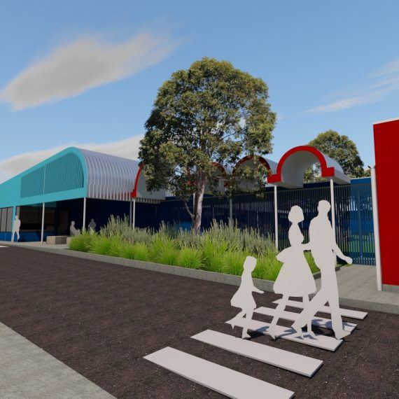 Sesame Lane Child Care - Reddog Architects Award Winning Architects Brisbane