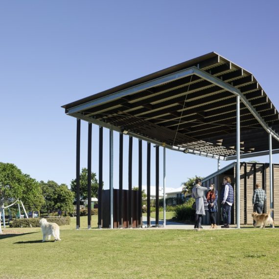 Dragonfly Pavilion - Reddog Architects Award Winning Architects Brisbane