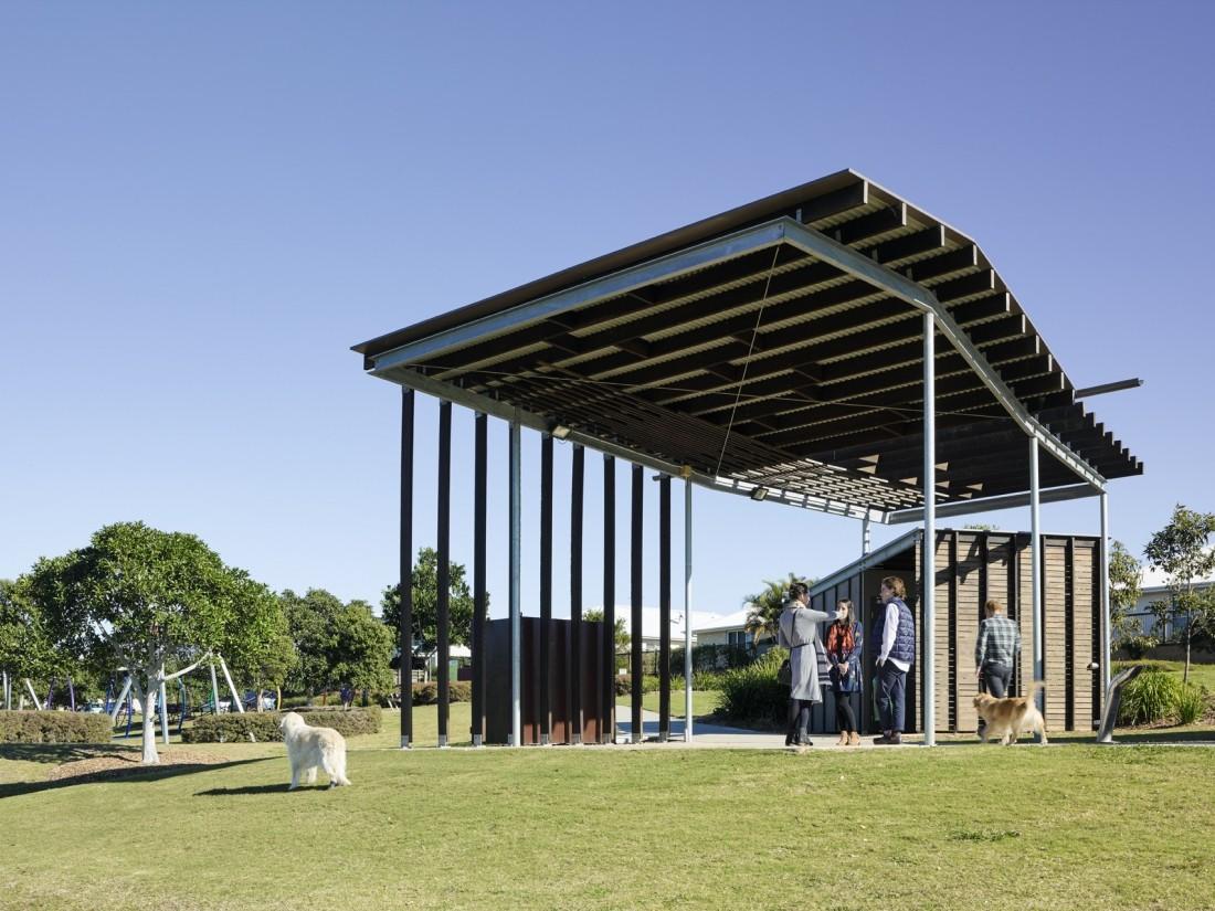 Dragonfly Pavilion - Reddog Architects Award Winning Architects Brisbane