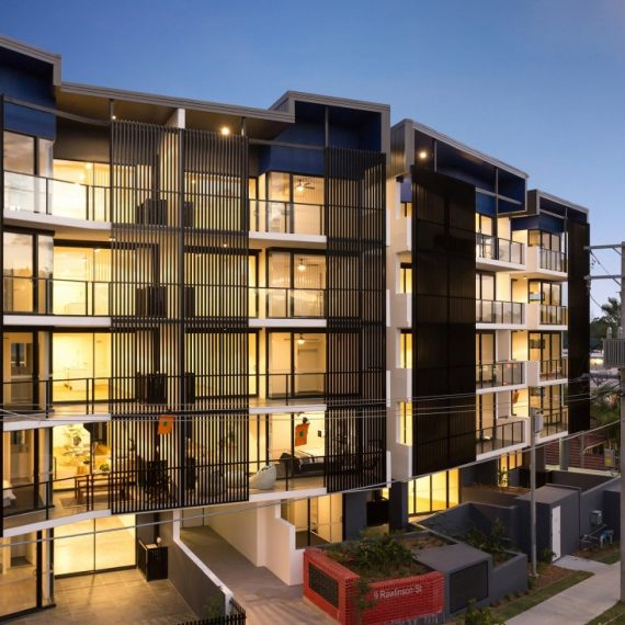 Rawlinson Street - Reddog Architects Award Winning Architects Brisbane