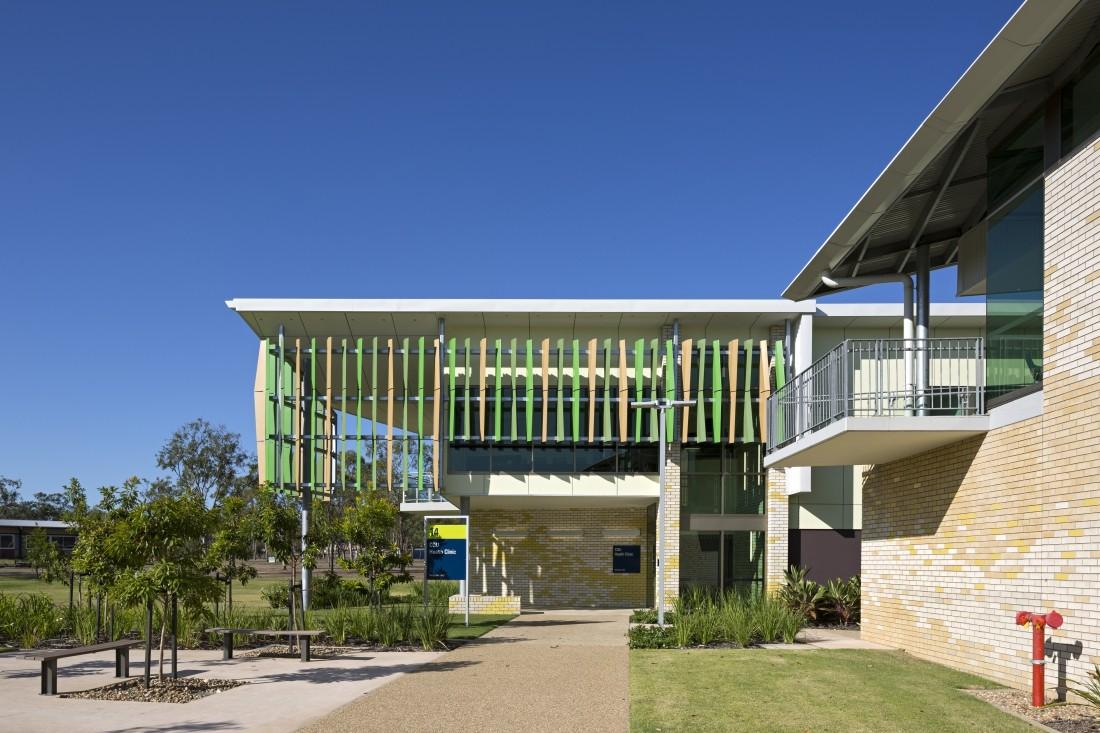 CQU Allied Health Stage 2 - Reddog Architects Award Winning Architects Brisbane