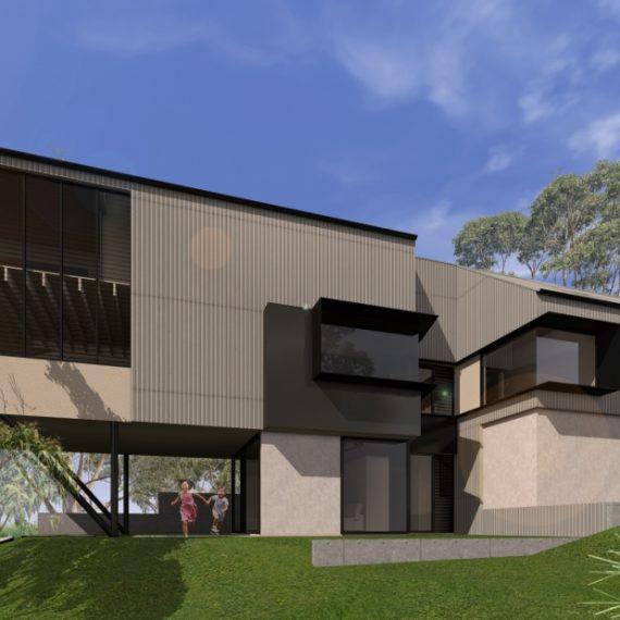 HILL HOUSE- Reddog Award Winning Architects Brisbane