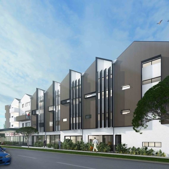 SHOTTERY STREET - Reddog Architects Award Winning Architects Brisbane