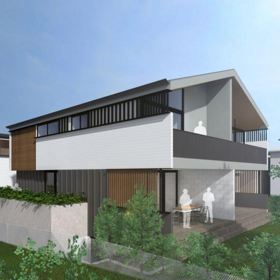 MACAULAY STREET TOWNHOUSES- Reddog Architects Award Winning Architects Brisbane