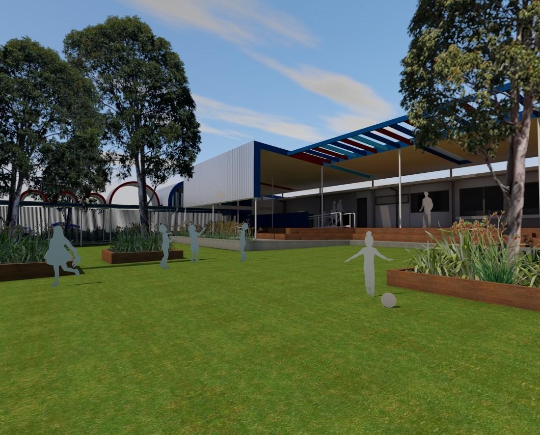 Sesame Lane Child Care - Reddog Architects Award Winning Architects Brisbane